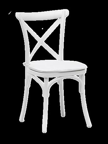 Crossback Chairs in Weiß kaufen b2b für Eventlocations