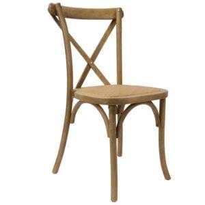 Crossback Chairs Rattansitzfläche kaufen b2b für Eventlocations