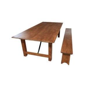 Holzbänke Massiv kaufen b2b